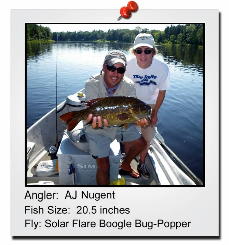 Wisconsin guided fly fishing trips trout bass and for Fly fishing wisconsin