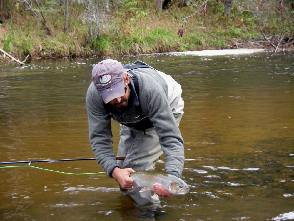 brule steelhead trip tight lines fly fishing company