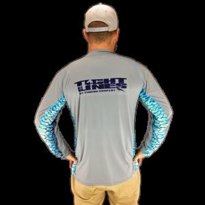 Simms Solarflex Crewneck DeYoung Tarpon w/ Tight Lines Logo