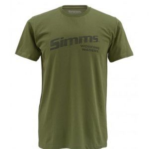 Simms Working Wader T-Shirt Olive