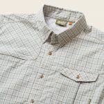 Howler Brothers Matagorda Shirt Nueces Plaid Slate Blue
