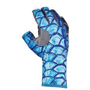 Buff Anlger 3 Gloves Tarpon Scales