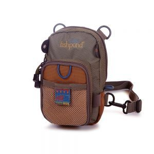 San Juan Vertical Chest Pack – Sand/Saddle Brown