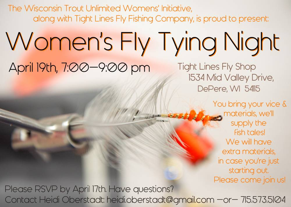 Women's Fly Tying night-1